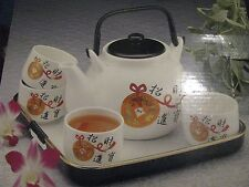 Chinese Style Tea Service Set & Tray