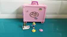 19.9.8.9 Polly pocket Polly in Paris Valise fun rose personnages doll Bluebird