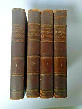 Louis Figuier LES MERVEILLES DE LA SCIENCE.. 4/4 Tomes 1868