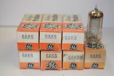SEVEN (QTY 7) 6AK6 GE VINTAGE TUBES - NOS IN BOXES