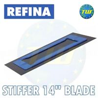 REFINA 14in Stiffer Replacement PlaziFLEX Plastic Non-Foam Back Trowel Blade 350