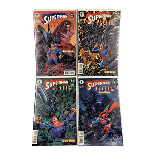 Superman Aliens II: God War #1-4 (2002, Dark Horse) Full Set