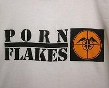 PORN FLAKES Fear A Hispanic 2XL tee rap parody T shirt GWAR Ohio crosshairs XXL