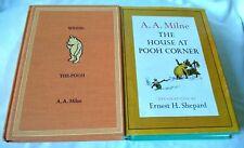 Winnie the Pooh Books Hardback 1961 Winnie the Pooh, The House at Pooh's corner