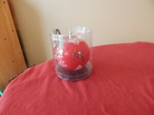 """Tampa Bay Buccaneers NFL Logo 3"""" Plastic Christmas Tree Holiday Ornament NEW"""