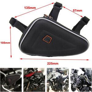 Motorcycle Engine Bag Seat Storage Carry Hand Shoulder Saddle Bag Toolkit Black