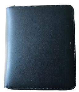 Filofax A5 Zipped Pennybridge organiser iPad case - Black Gift Birthday