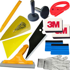 Car Installation Tools Kit Vinyl Suede Squeegee Razor Knife Auto Film Wrapping