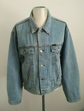 Mens Vintage 90s Diesel Only the Brave Blue Denim Button Up Jacket - Size XL