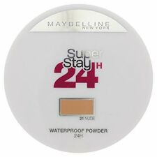 4 X MAYBELLINE SUPERSTAY 24 HOUR WATERPROOF POWDER MAKEUP ❤ 21 NUDE ❤