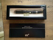 NEW Montblanc Starwalker Midnight Black Resin Ballpoint Pen 106386