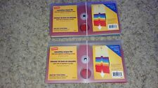 2 STAPLES Brand 6 Pocket Poly Expandable COUPON  FILE multicolor Brand New