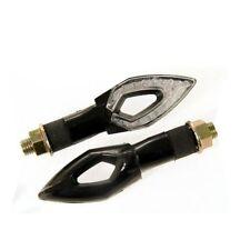 77206193 COPPIA FRECCE NERE LUNGHE a LED OMOLOGATE per YAMAHA T-MAX 500
