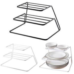 Plate Pot Pan Stacker Storage Organiser Insert Store Rack Holder Stand Tidy