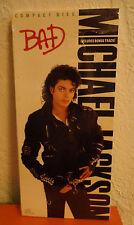 SEALED Michael Jackson US LONGBOX CD BAD 1987 EK40600 Long Box New
