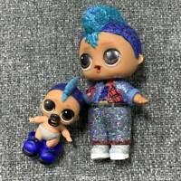 2Pcs LOL Surprise Poupée Glitter PUNK BOI BOY Big & LIL Sparkle Séries 2 Jouet