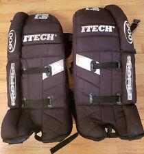 "Itech Profile Gp 900 goalie leg pads sz 28"" - Ice / Roller Hockey - Very Good"