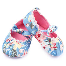 Casual Infant Newborn Toddler Baby Kid Girls Cotton Soft Sole Crib Shoes 7-12M