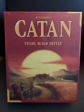 Catan Trade Build Settle The Board Game 3-4 Players New Sealed