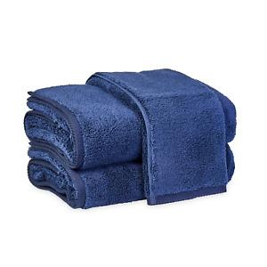Matouk Milagro Bath Towel Navy