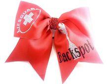 BackSpot Lifesaver Cheer Cheerleading Hair Bow