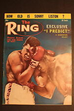 RING Boxing Magazine MAY 1964 Cassius Clay MUHAMMAD ALI vs Sonny Liston FN/VF