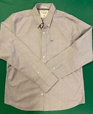 Original Abercrombie & Fitch dress shirt Silver for men Muscle size XXL