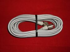 NEW USA MADE RG8X 95% SHEILDED 18FT COAX CABLE CB,HAM,SCANNER GREY