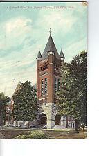 Vintage Post Card - TOLEDO OHIO - Ashland Ave. Baptist Church - Used 1910