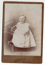 Antique / Vintage Cabinet Card Photo Young Boy  by A.P.Webb & Co Youngstown, Oh