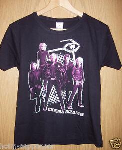 T-Shirt Cinema Bizarre Chessback, schwarz, Größe M Pop Musik Gruppe Neuware