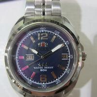 ORIENT MEN'S WATCH AUTOMATIC 21JEWELS ALL S/S ORIGINAL JAPAN BEM74005DK NEW