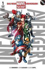 Uncanny Avengers #1 TPB alemán (US 1,2,3,4,5) Marvel Now Avengers vs. x-Men