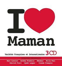 CD NEUF scellé - I LOVE MAMAN - Coffret boîte métal 3 CD / 58 Titres -Bi3