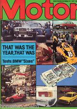 Motor Magazine - 31 December 1977 - BMW Sixes - Brabham