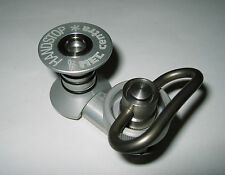 MEC/CENTRA Silver alloy Adjustble Offset handstop