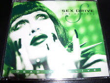 Dead Or Alive Sex Drive The Remixes Rare Australian Picture Disc CD Single