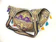 Large Banjara Textile TOTE, Embroidered Ethnic Bag Boho Hippie Indian Cotton