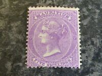 MAURITIUS POSTAGE STAMP SG72 5/- BRIGHT MAUVE VERY LIGHTLY MOUNTED-MINT