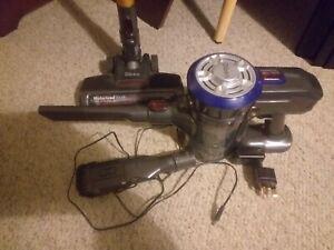 Dibea Powerful Cordless Vacuum Cleaner Upright Handheld Stick 2in1 Brush