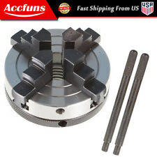 For All Wood Lathes With 1 Inch By 8 Tpi Spindles 3 Inch 4 Jaw Chuck