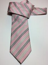 "NWOT Donald J. Trump Pink Striped 100% Silk Tie 3-3/4"" x 58"""