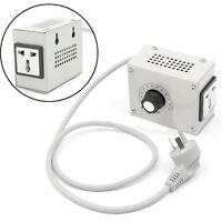 4000W 220V AC SCR Voltage Regulator Dimmer Electric Motor Speed Controller NEW *