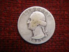 1932 D WASHINGTON QUARTER - KEY DATE - MAY BE THE ONE FOR UR SET