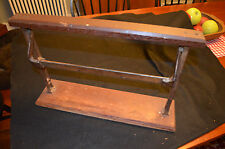 """Antique  Cast Iron Country General Store Paper Roll Dispenser Butcher 16"""""""