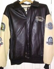 Disney leather bomber jacket