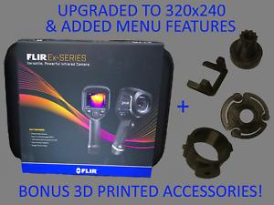 NEW FLIR E4 WIFI Thermal Camera - Upgraded to E8 Specs 320x240 MSX Adv Menu