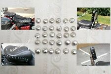 DIY - 50X Chrome Metal Iron Steel Studded Stud Studs - Decorate & Fun 240 #m