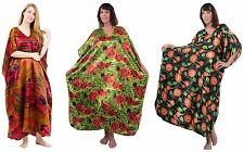 Satin Caftans Combo Pack, 3 Selected Prints, Plus Size, Up2date Fashion Style-21