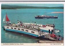 Dorset; Sandbanks To Studland Car Ferry PPC, Unposted c 1970's by John Hinde